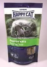 Happy Cat Лакомые подушечки с кошачьей мятой 50гр