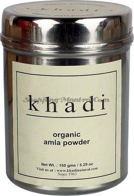 Амла в порошке для восстановления волос Кхади (Khadi Organic Pure Amla Hair Powder)