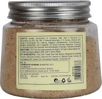 Khadi Herbal Orange Lemongrass With Cinnamon Powder Bath Salt