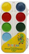 Краски акварельные в пластмассовой упаковке, 10 цветов (арт. TZ 8082) (00910)