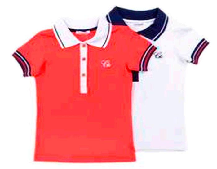 Блуза-поло для девочки