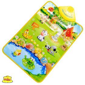 Интерактивный игровой коврик «Веселая ферма»
