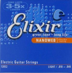 ELIXIR 12052 NanoWeb (010-046) Струны для электрогитары
