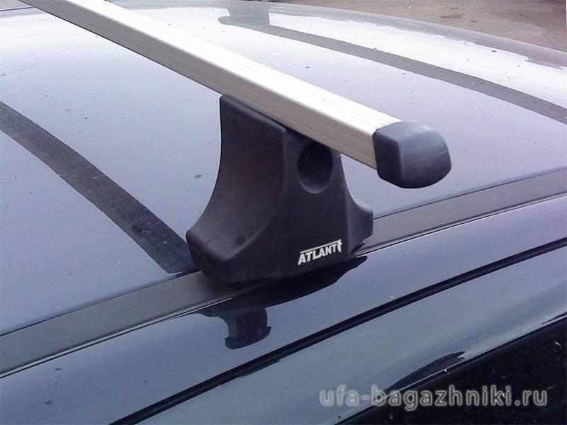 Багажник на крышу Peugeot 308, Атлант, прямоугольные дуги