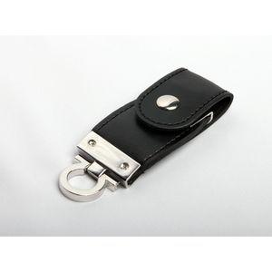 8GB USB-флэш накопитель Apexto U503C гладкая черная кожа OEM
