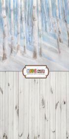 "Фон ""Winter forest"" 3х1,5"