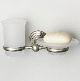 Держатель стакана и мыльницы  WasserKraft Серия Ammer К-7000