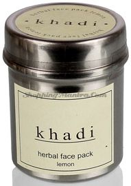 Натуральная маска для лица Лимон Кхади (Khadi Lemon Herbal Face Pack)
