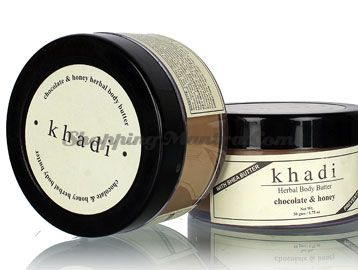 Крем-масло для тела Шоколад&Мед с маслом ши (Khadi Chocolate Honey Body Butter Cream)