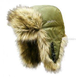 Шапка ушанка Kosadaka Arctic волк хаки