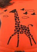 сарафан с жирафом
