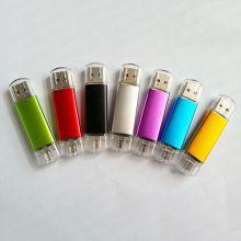 Флешка для смартфона и ПК Micro USB+ USB 2.0 16 гб
