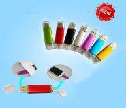 Флешка для смартфона и ПК (32 ГБ, Micro USB, USB 2.0)