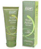 Омолаживающая маска для лица Соя&Миндаль Джовис / Jovees Youth Active Face Pack