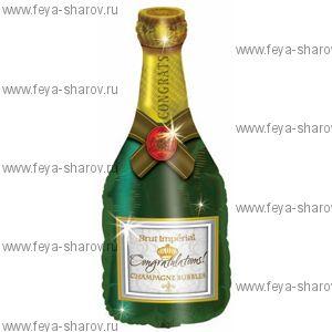 "Шар ""Бутылка Шампанского"" 94 см"