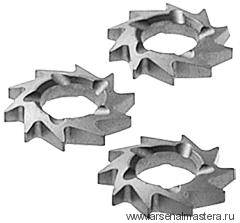 Фрезы дисковые косозубые FESTOOL, комплект из 12 шт. HW-FZ 12 769133