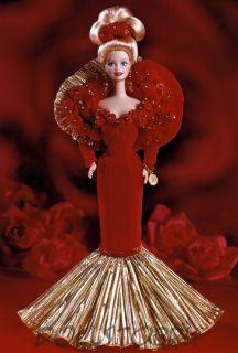 Коллекционная кукла  Барби Золотой  Юбилей 50 лет Барби - Golden Anniversary 1945-1995 Barbie Porcelain