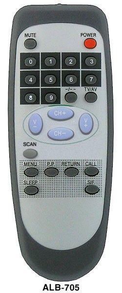 Пульт для Sitronics ALB-705 (TV) =AKAI ALB-105 (СTV-2111N, STV-1401, STV-1401N, STV-1402, STV-1402N, STV-2101N, STV-2102F, STV-2107F, STV-2111N)