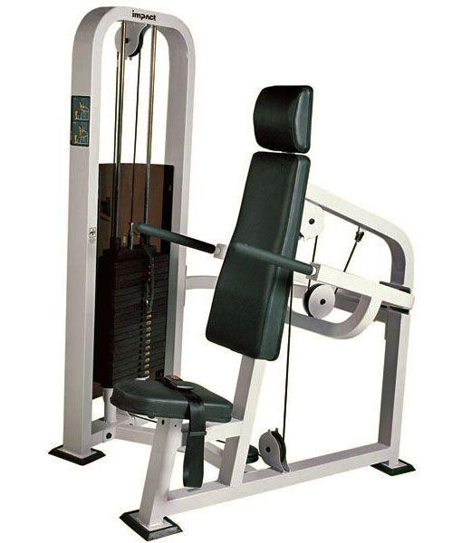 Трицепс – машина (имитация отжимания на брусьях). Силовой тренажёр JOHNS SB 1030. Грузоблочный