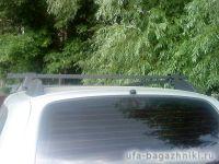Багажник (поперечины) на рейлинги на Chevrolet Niva, Атлант, стальные дуги