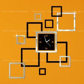 Настенные часы с декором