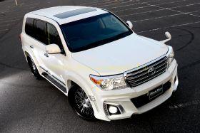 Аэродинамический обвес WALD Black Bison Edition для Toyota Land Cruiser 200