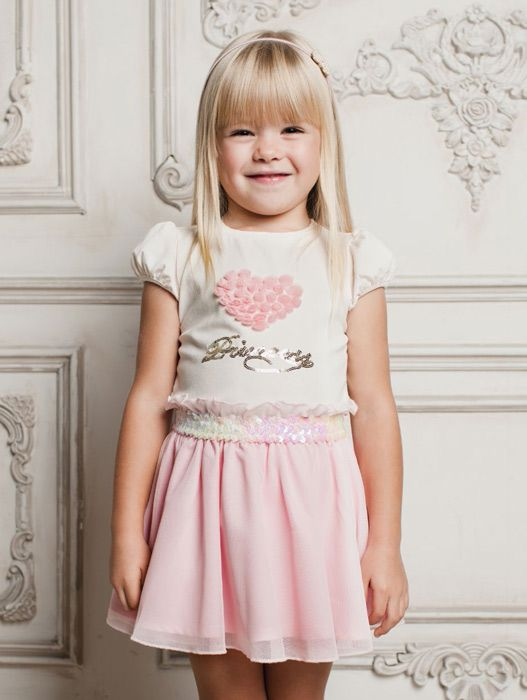 Блуза для девочки Розовое сердце