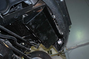 Защита рулевых тяг УАЗ Патриот (UAZ Patriot)