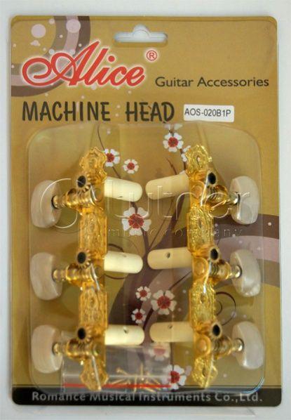 ALICE AO-020B1P Комплект колковой механики для классической гитары