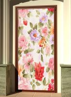 Наклейка на дверь - Прованс | магазин Интерьерные наклейки