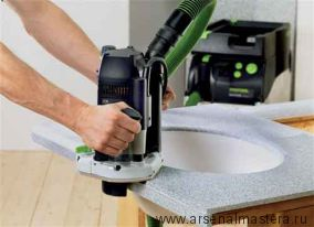 Вертикальный фрезер FESTOOL в контейнере T-Loc OF 2200 EB-Set 574392