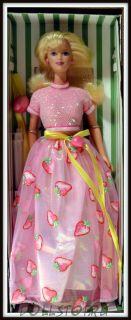 Коллекционная кукла Барби Клубничный Сорбет - Strawberry Sorbet Barbie Doll