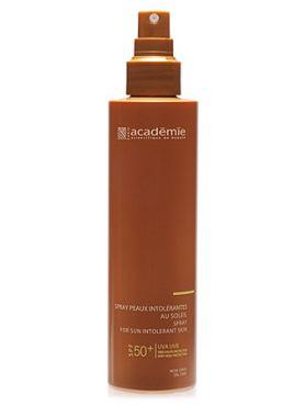 Academie Bronzecran Спрей SPF 50+ для чувствительной кожи