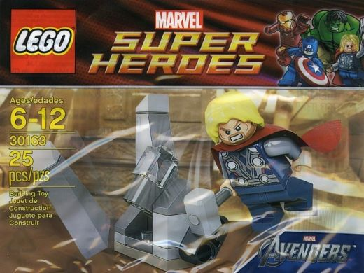30163 Тор и космический куб Конструктор ЛЕГО Супергерои
