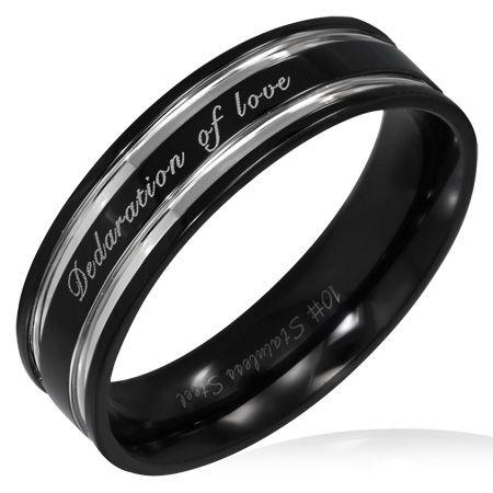 Кольцо из ювелирной стали