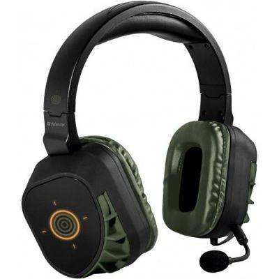 Игровая гарнитура Warhead HN-G180 черный, USB, кабель 2,1 м