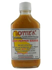 Острый соус Lottie's Traditional Barbados Yellow Hot Pepper Sauce