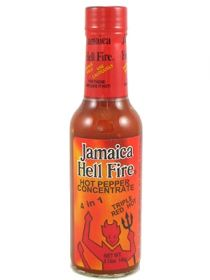 Острый соус Jamaica Hell Fire 4 in 1