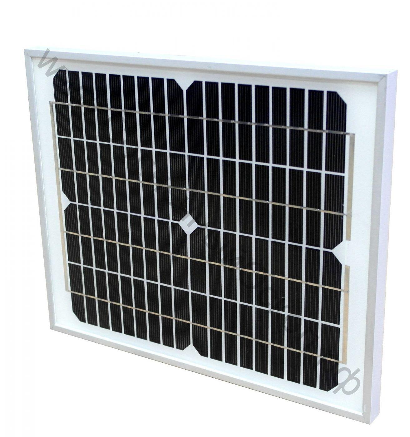 Солнечная панель 15 Вт 12 В (mono-Si)