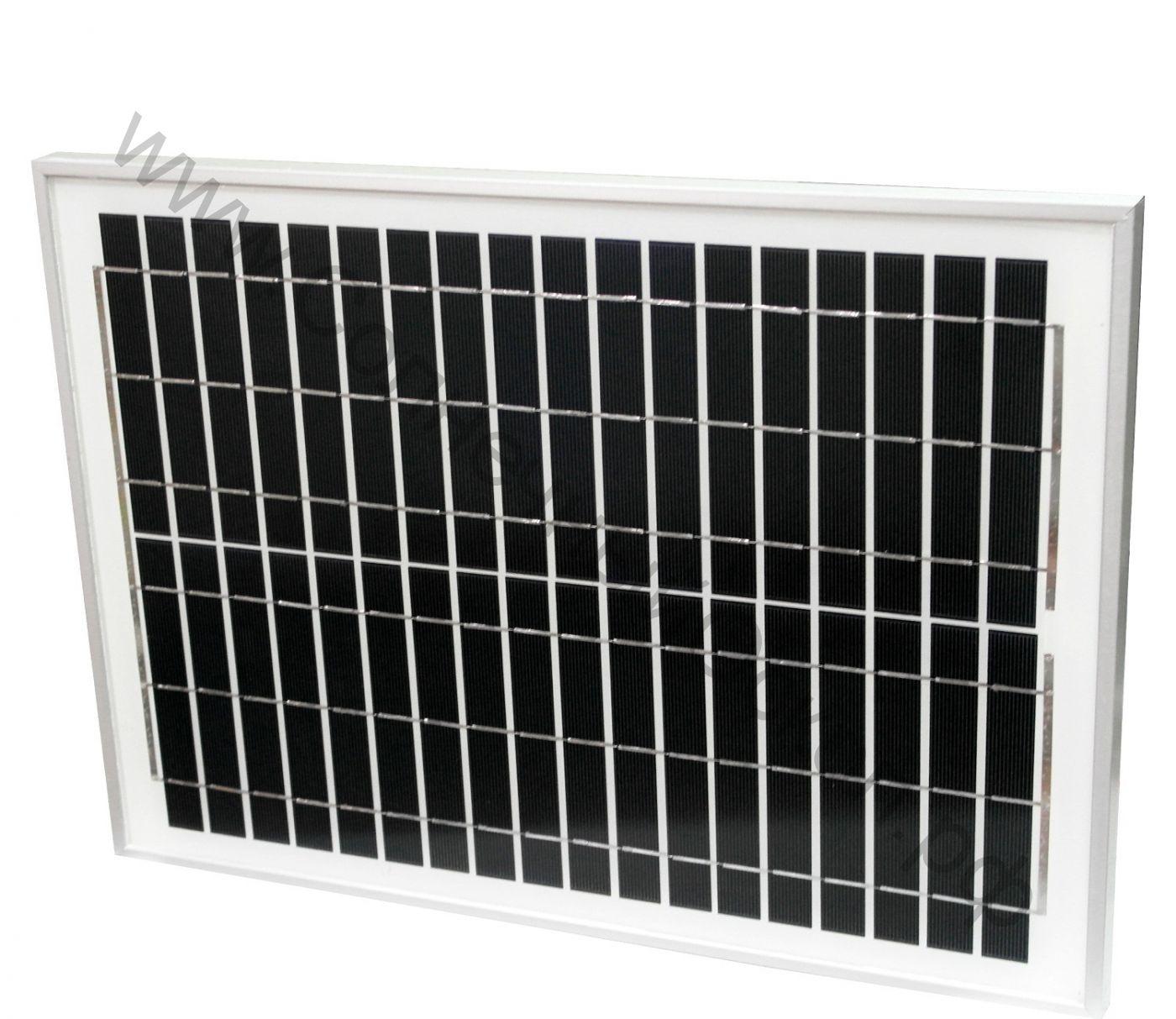 Солнечная панель 20 Вт 12 В (mono-Si)
