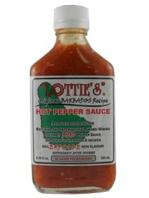 Острый соус Lottie's Original Barbados Red Hot Pepper Sauce