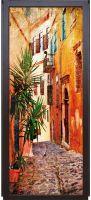Наклейка на дверь - Южный город | магазин Интерьерные наклейки