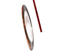 Декоративная самоклеющаяся лента (0,8 мм) №7 Цвет: бронзовый голограмма