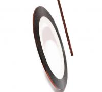 Декоративная самоклеющаяся лента (0,8 мм) №30 Цвет: темно-бронзовый