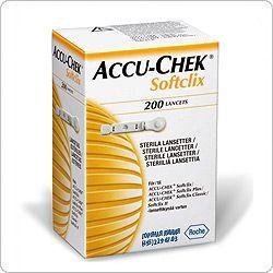 """Ланцеты """"Акку-Чек Софткликс"""" (Accu-Chek Softclix) – 25 шт."""