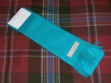 шарф шотландский 100% шерсть , расцветка Aqua Аква.
