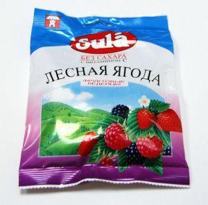 """ЛЕДЕНЦЫ """"SULA"""" ЛЕСНАЯ ЯГОДА С ВИТАМИНОМ С, 60 Г."""