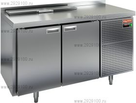 Стол охлаждаемый для салатов HICOLD SL2-11GN (1/6)