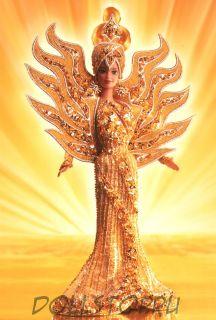 "Коллекционная кукла Барби ""Богиня Солнца"" - Bob Mackie Goddess of the Sun Barbie Doll"