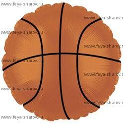 """Шар """"Баскетбольный мяч"""" 46 см"""